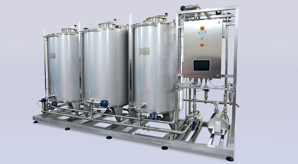 Chemical and food industry plants cleaning and washing system g-clean - img01