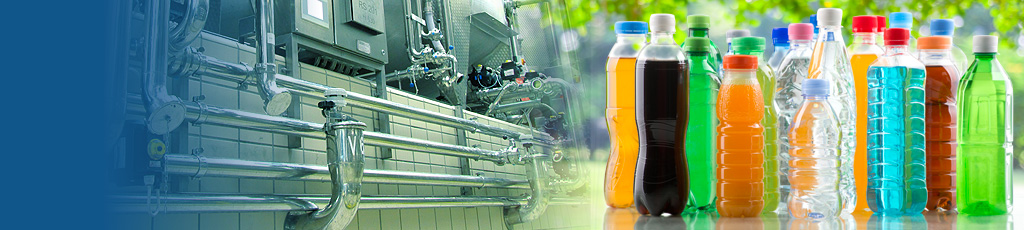 Mineral water and beverages industrial system water and drinks production systems -header